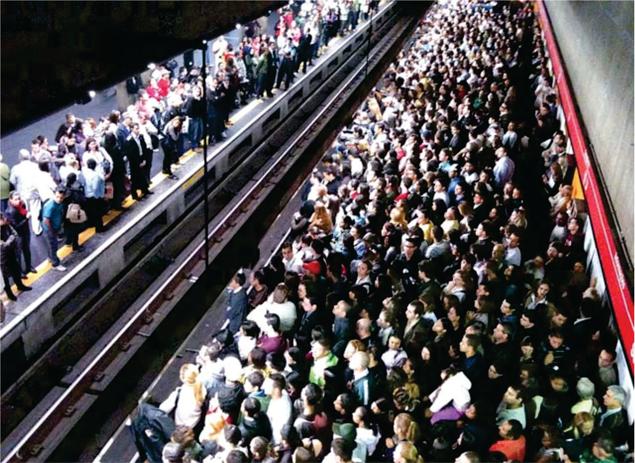 Caos provocado pela Greve do Metrô em Sp (Fonte: http://www.agencianoticias.com.br/)